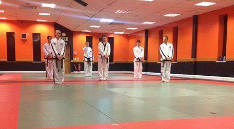 Taekwon-Do class