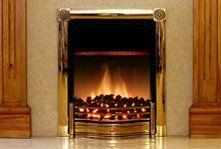 multi-fuel stove installation