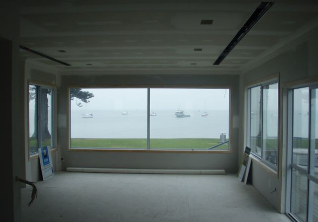 Plastering services in a Tauranga home