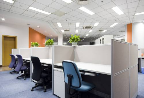 office cubicles installation
