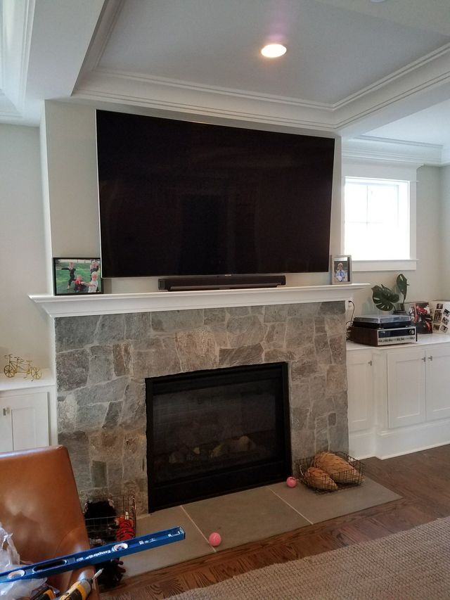 Tv Mounting Above Fireplace Professional Service Provider