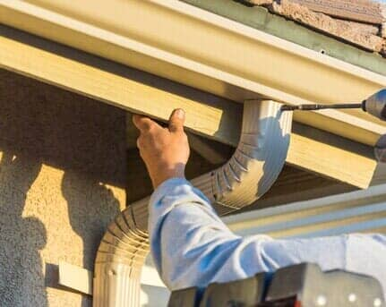Gutter Installation | Salt Lake City, UT | Mountain West Roofing and on mobile home gutter guards, mobile home wall repairs, mobile home gutter covers, mobile home shingle roof repairs,