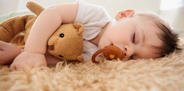 a kid sleeping
