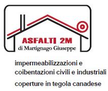 Asfalti 2 M di Martignago Giuseppe logo