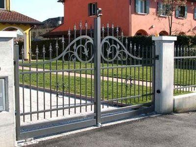 cancello in ferro