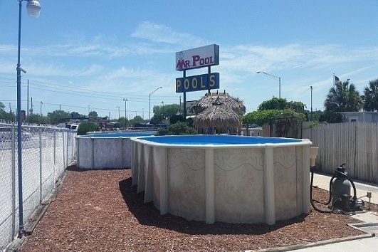 Above ground swimming pool Kidney Shaped Steel Pool Above Ground Swimming Pool Mr Pool Inc In Pinellas Park Fl Mr Pool Inc Abovegroundswimmingpools Pinellas Park Fl Mr Pool Inc