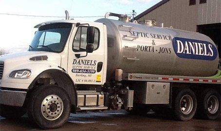 Septic Cleaning | Sterling, MI | Daniels Septic Service