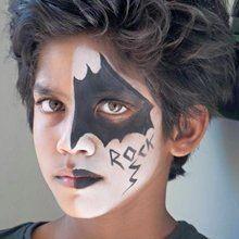 uniquely painted face