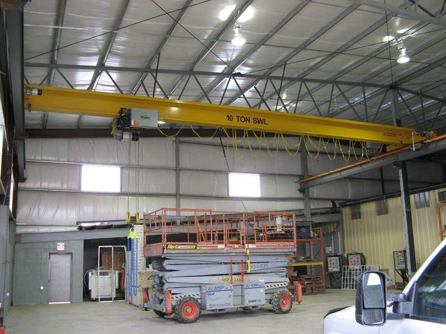 Overhead Cranes & Machinery Alberta   Turnkey Solutions