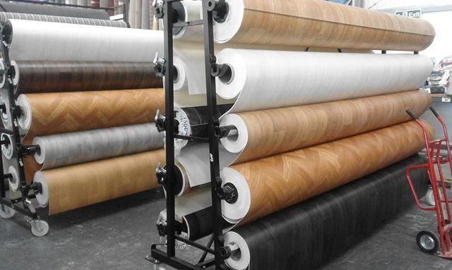Huge Selection Of Vinyl Floors On The Roll