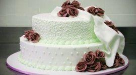 torte con decorazioni, torte a piani, decorazioni floreali