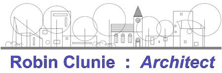 Robin Clunie: Architect logo