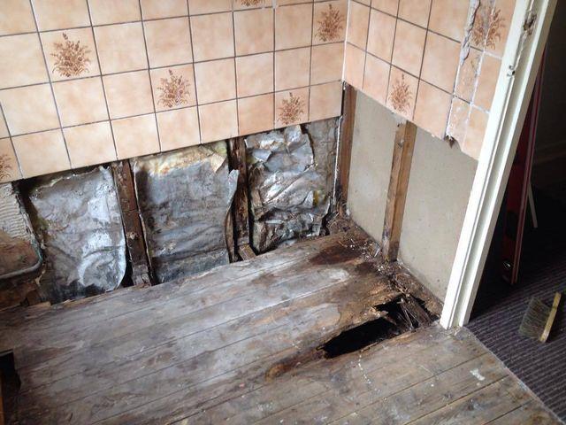 Bathroom repairmen