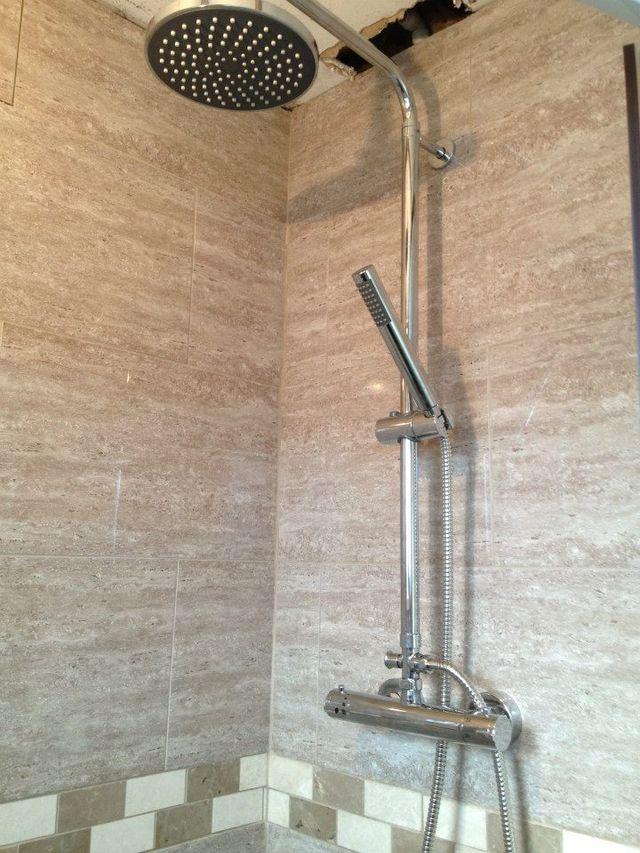 Excellent shower installations