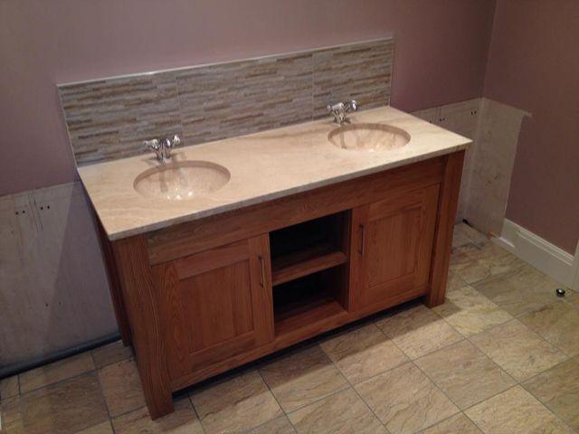 Wash basin installations