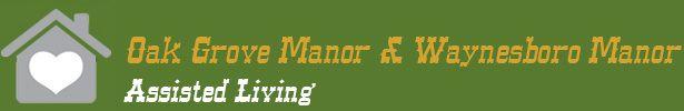 logo Waynesboro Manor and Oak Grove Manor Assisted Living