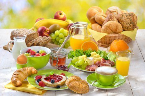 colazione all`italiana
