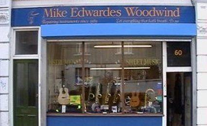 Mike Edwardes Woodwind showroom