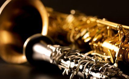 golden coloured instrument