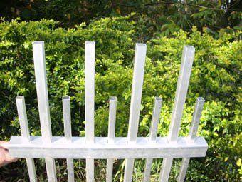 Custom fabricated single gate