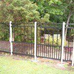 S87 Custom fabricated single gate