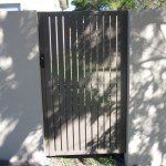 S96 Custom fabricated single gate