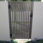 S97 Custom fabricated single gate