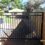 s100 Custom fabricated single gate