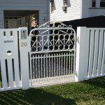 s106 Custom fabricated single gate