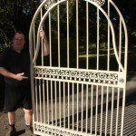 s94 Custom fabricated single gate