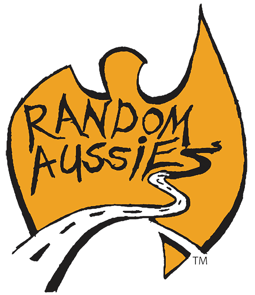 random aussie logo