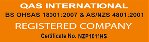 QAS International registered company certificate icon