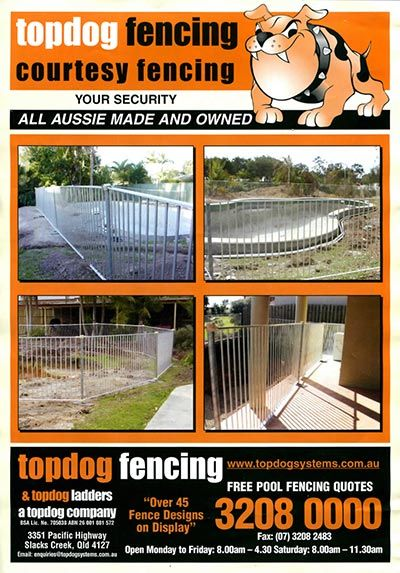 topdog temporary fences