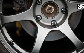 Car wheel repaired by a motor mechanic in Whangarei