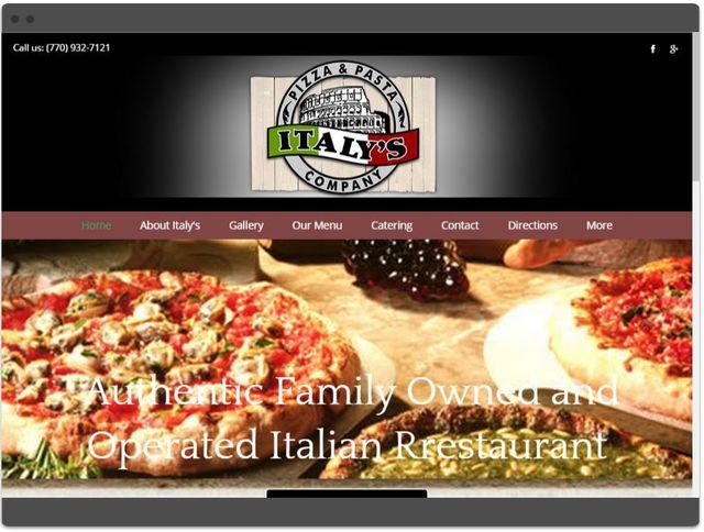Responsive website design preview-Gwinnett, GA