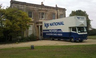 KJS National Movers vehicle