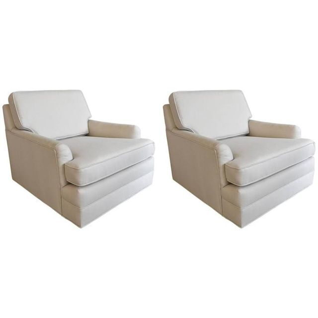 Pair of Harvey Probber Floating Lounge Chairs