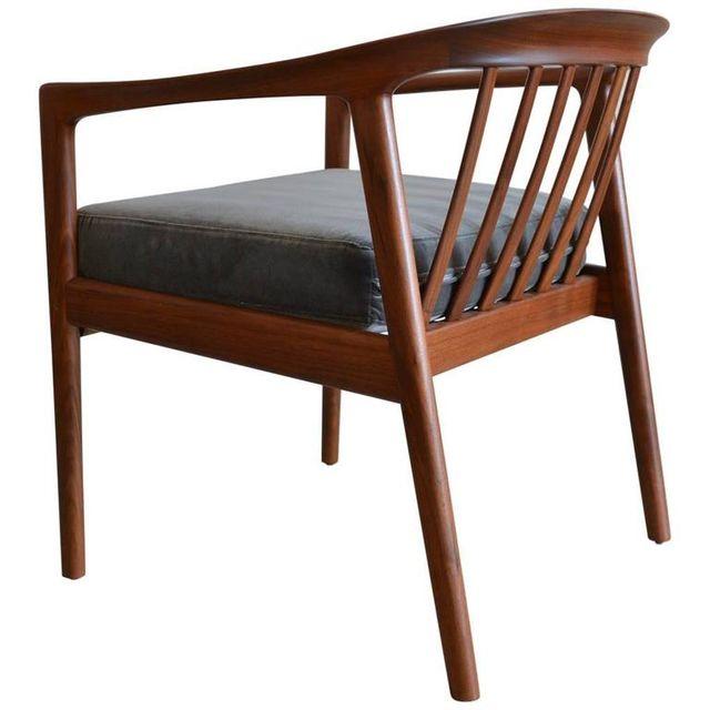 Folke Ohlsson for DUX Barrel Back Side or Accent Chair