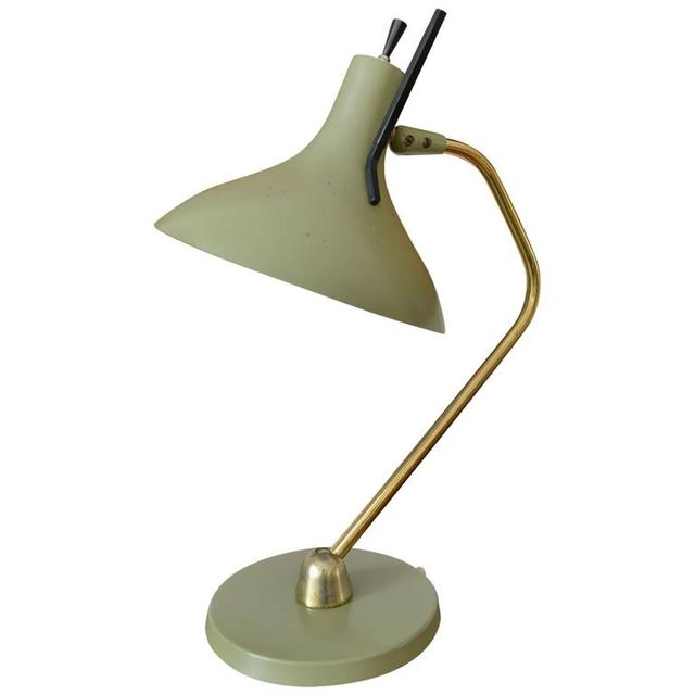 Enameled Desk Lamp by Maurizio Tempestino for Lightolier