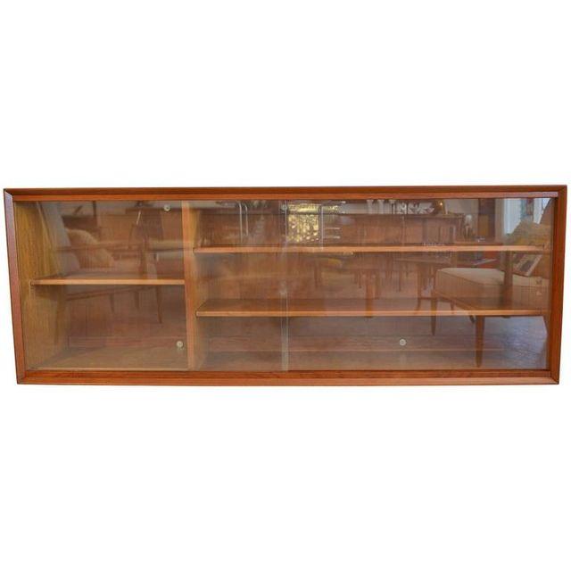 Teak Floating Cabinet by Gunni Omann, ca. 1960