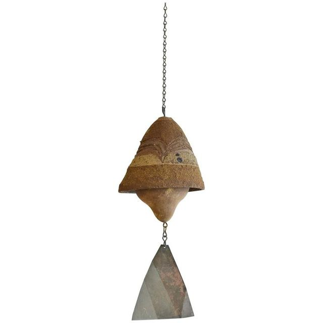 Vintage Ceramic Wind Bell by Paolo Soleri, ca. 1960