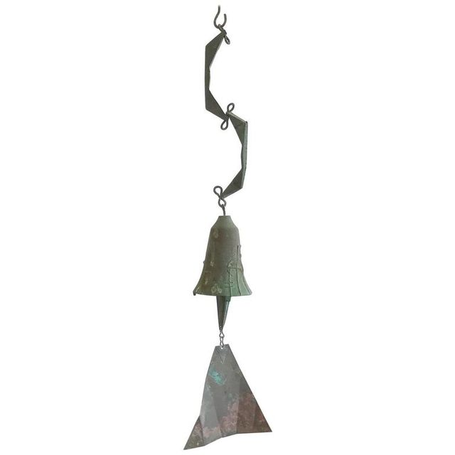 Vintage Bronze Windbell by Paolo Soleri, ca. 1965