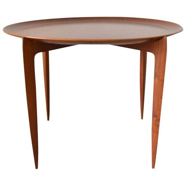 Teak Tray Table by H Engholm and Svend Aage Willumsen