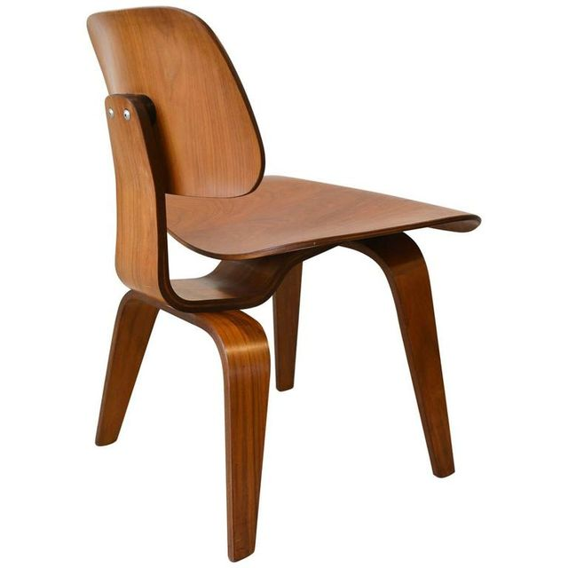 Vintage Eames DCW Plywood Chair