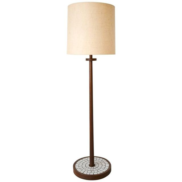 Walnut Floor Lamp by Gordon and Jane Martz, Marshall Studios, ca. 1965