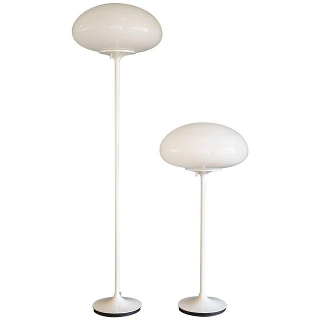Pair of Bill Curry Stemlite Lamps for Design Line, ca. 1960