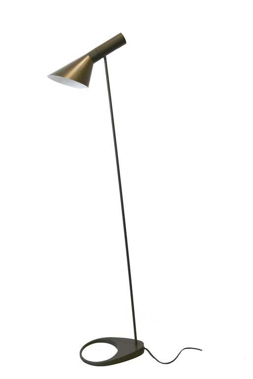 Early Arne Jacobsen for Louis Poulsen 'AJ' Floor Lamp, ca. 1960