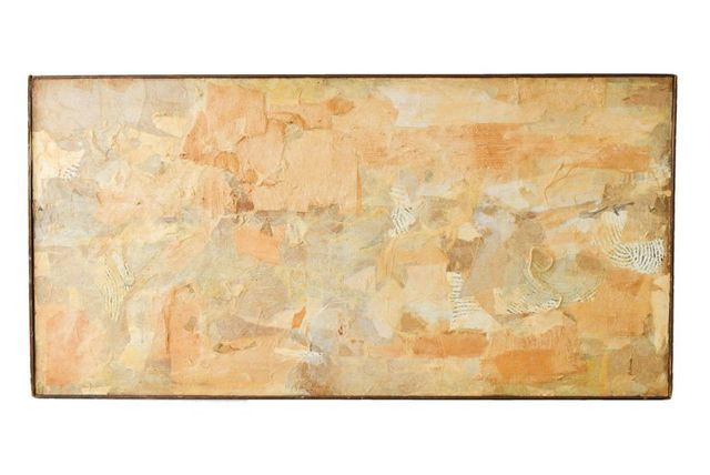 Abstract Mixed Media Collage by California Artist Don Werner, ca. 1968 $895
