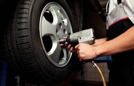 wheel fitting