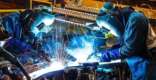 Welding work by quality workers in La Crosse, WI